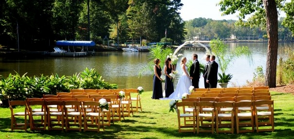 Lakefront Hotel Weddings